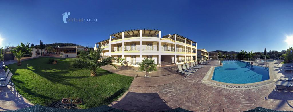Corfu Andromeda hotel Panorama